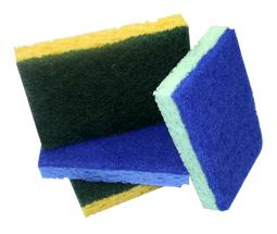 Dish-Cleaner & Scoering Sponge